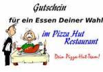 Pizza als Gutschein - Vorlagen, Muster, Gutscheinideen